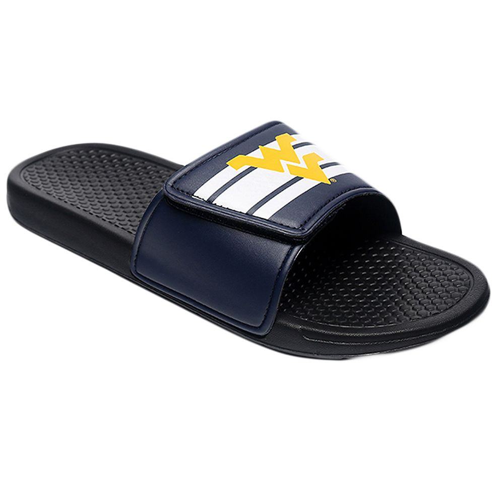Men's Forever Collectibles West Virginia Mountaineers Legacy Slide Sandals