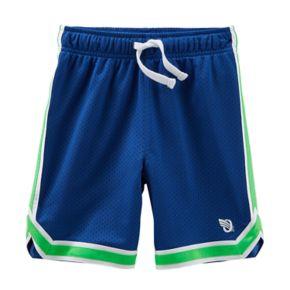 Boys 4-8 OshKosh B'gosh® Mesh Striped Athletic Shorts