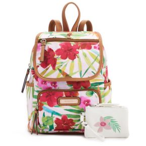 Rosetti Tinley Printed Backpack with Coin Purse