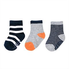 Baby Boy Carter's 3-pack Crew Socks