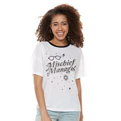 Juniors' Harry Potter 'Mischief Managed' Graphic Tee