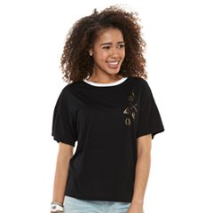 Juniors' Harry Potter Icons Graphic Tee