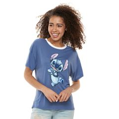 Disney's Lilo & Stitch Juniors'  Dancing Graphic Tee