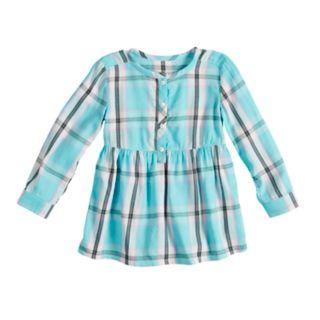 Toddler Girl Jumping Beans® Plaid Henley