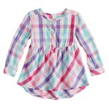 Toddler Girl Jumping Beans® Plaid Henley