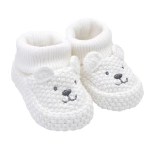 Baby Carter's Polar Bear Crochet Booties