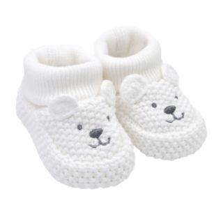 Baby Carter's Polar Bear Crochet Booties