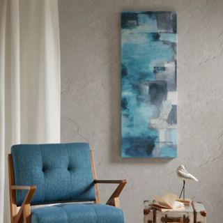 INK+IVY Interaction Blue Canvas Wall Art