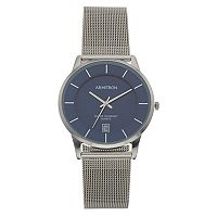 Armitron Men's Stainless Steel Mesh Watch - 20/5123NVSV