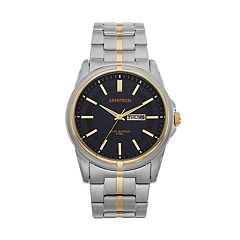 Armitron Men's Two Tone Stainless Steel Watch - 20/5281BKTT