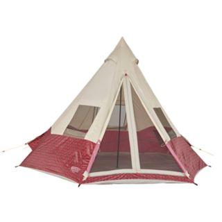 Wenzel Shenanigan Buffalo Plaid 5 Person Tent