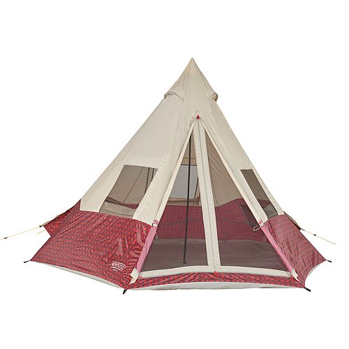 Wenzel Shenanigan Buffalo Plaid 5 Person Tent
