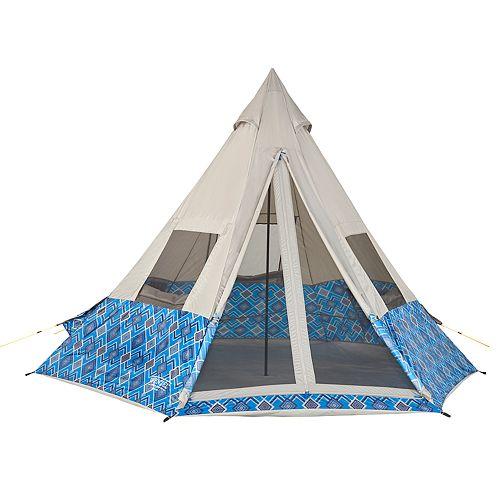 Wenzel Shenanigan Blue Geo 5 Person Tent