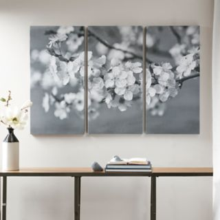 Madison Park Branches In Bloom Canvas Wall Art 3-piece Set