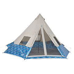 Wenzel Shenanigan Blue Geo 8 Person Tent