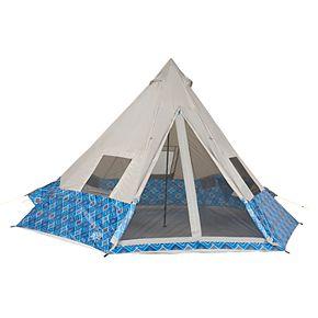 Wenzel Shenanigan Blue Geo 8 Person Tent