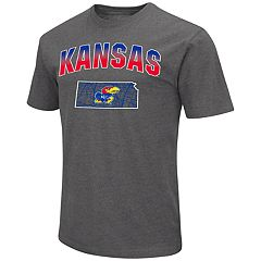 Men's Kansas Jayhawks Team Color Tee