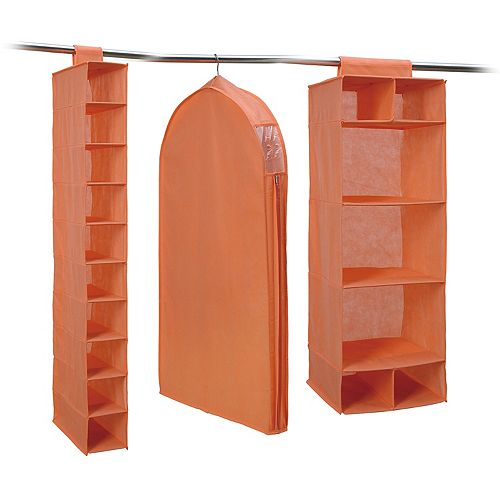 Neu Home 3-piece Combo Closet Storage Set