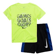 Boys 4-7 Nike 'Games Goals Glory' Tee & Shorts Set