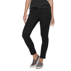 Petite SONOMA Goods for Life™ Sateen Midrise Skinny Pants