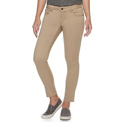 Petite SONOMA Goods for Life™ Sateen Midrise Skinny Pants