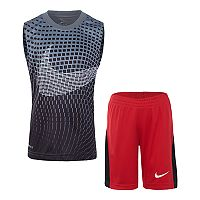 Boys 4-7 Nike Abstract Muscle Tee & Shorts Set