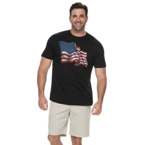 Big & Tall SONOMA Goods for Life™ American Flag Graphic Tee
