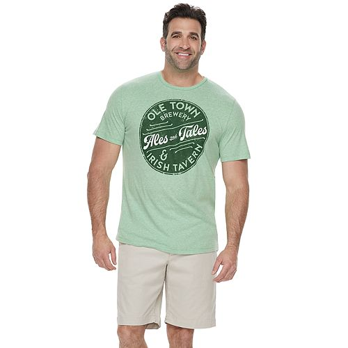 """Big & Tall SONOMA Goods for Life™ """"Ales and Tales"""" Graphic Tee"""