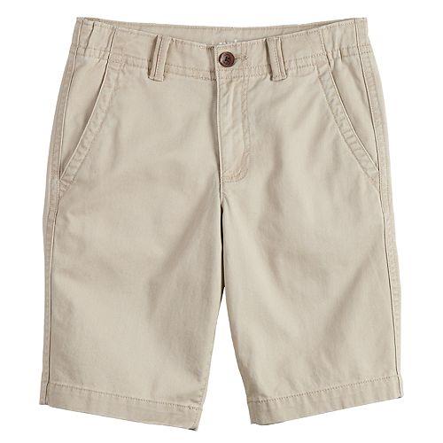 Boys 8-20 Urban Pipeline™ Flat-Front Twill Shorts
