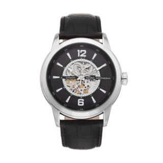 Marc Anthony Men's Baldwyn Automatic Skeleton Watch