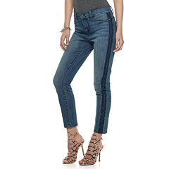Women's Juicy Couture MidRise Skinny Ankle Jeans