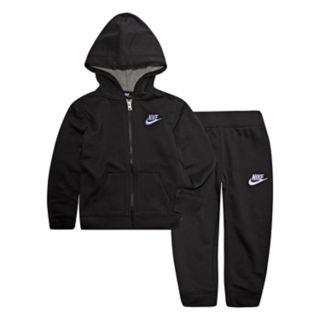 Toddler Boy Nike Zip Hoodie & Jogger Pants Set