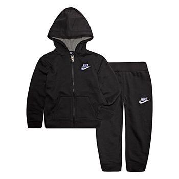 0443334f85 Toddler Boy Nike Zip Hoodie & Jogger Pants Set