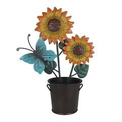 SONOMA Goods for Life™ Sunflower & Butterfly Photo Clip