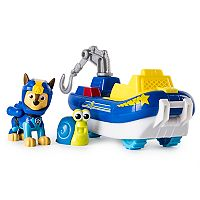 Paw Patrol Chase's Transforming Sea Patrol Vehicle by Spinmaster