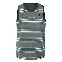 Boys 4-7 Hurley Striped Logo Tank Top