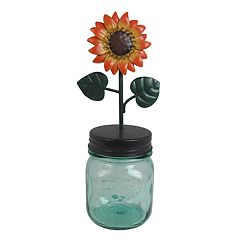 SONOMA Goods for Life™ Sunflower Mason Jar Photo Clip