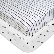 TL Care 2-Pack Printed Knit Playard Sheets
