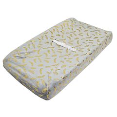 TL Care Heavenly Soft Chenille Fitted Contoured Changing Table Pad Cover