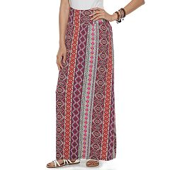 Juniors' Joe B Cinch Side Maxi Skirt