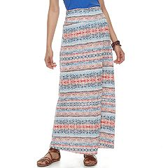 Juniors' Joe B Cinch Side Maxi Skirt
