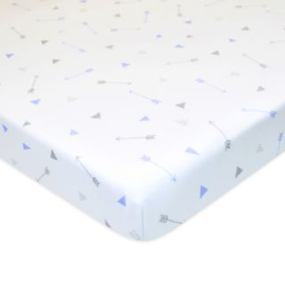 TL Care 2 Pack Jersey Knit Portable/Mini Fitted Crib Sheets