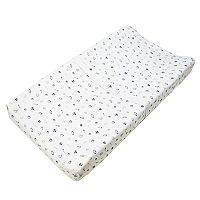 TL Care Printed Knit Fitted Contoured Changing Table Pad Cover