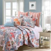 Atlantis Throw Pillow & Quilt Set