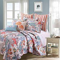 Atlantis Throw Pillow & Quilt Set