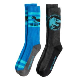 Boys 4-20 Jurassic World 2-Pack Crew Socks