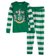 Boys 8-14 Harry Potter Slytherin 2-Piece Pajama Set