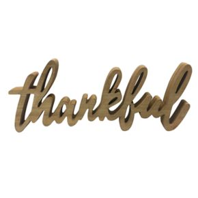 """SONOMA Goods for Life? """"Thankful"""" Table Decor"""