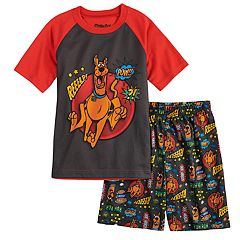Boys 4-12 Scooby Doo 2-Piece Pajama Set
