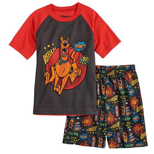 Boys 4-12 Scooby Doo 2-Piece Pajama Set
